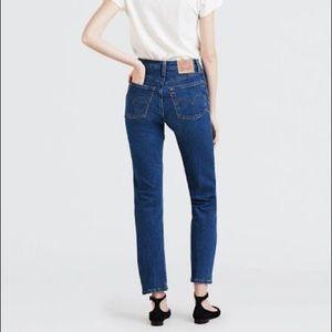 Levi's 501 Button Fly Original Fit Jeans Women's 8